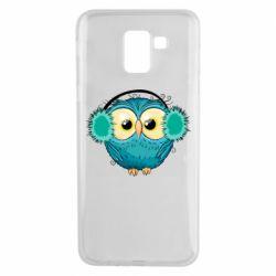 Чехол для Samsung J6 Winter owl