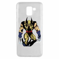 Чохол для Samsung J6 Wolverine comics