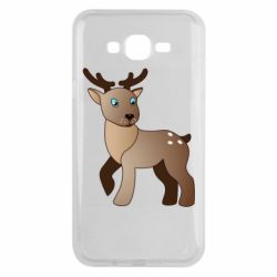 Чехол для Samsung J7 2015 Cartoon deer