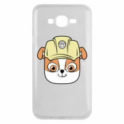 Чохол для Samsung J7 2015 Dog in helmet