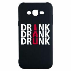 Чехол для Samsung J7 2015 Drink Drank Drunk