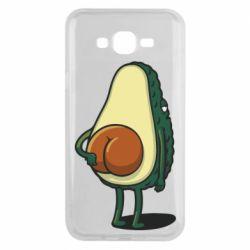 Чохол для Samsung J7 2015 Funny avocado