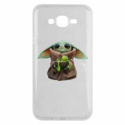Чохол для Samsung J7 2015 Grogu and Kermit