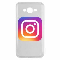 Чохол для Samsung J7 2015 Instagram Logo Gradient