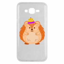 Чохол для Samsung J7 2015 Little hedgehog in a hat