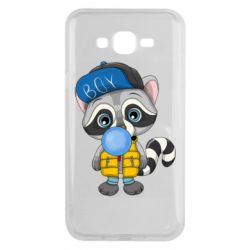 Чехол для Samsung J7 2015 Little raccoon