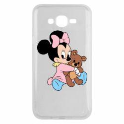 Чохол для Samsung J7 2015 Minnie And Bear