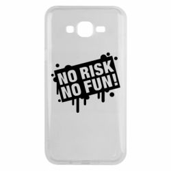 Чохол для Samsung J7 2015 No Risk No Fun