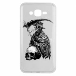 Чехол для Samsung J7 2015 Plague Doctor graphic arts