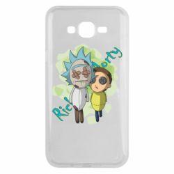 Чохол для Samsung J7 2015 Rick and Morty voodoo doll