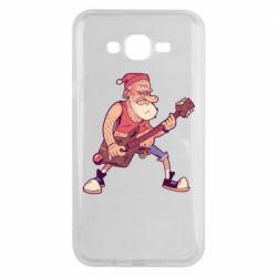 Чохол для Samsung J7 2015 Rock'n'roll Santa