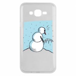 Чохол для Samsung J7 2015 Snowman. It's Cold!