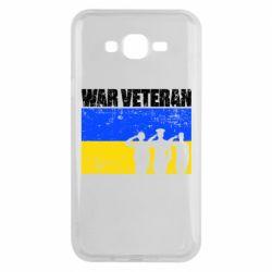 Чохол для Samsung J7 2015 War veteran