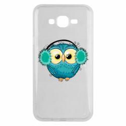 Чехол для Samsung J7 2015 Winter owl