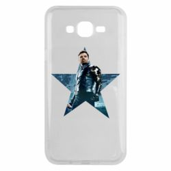 Чохол для Samsung J7 2015 Winter Soldier Star