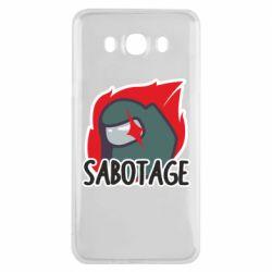 Чохол для Samsung J7 2016 Among Us Sabotage