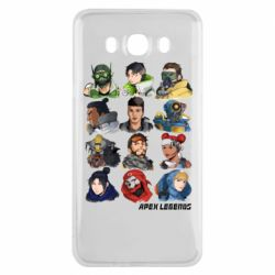 Чохол для Samsung J7 2016 Apex legends heroes