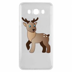 Чехол для Samsung J7 2016 Cartoon deer