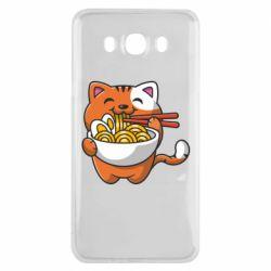 Чохол для Samsung J7 2016 Cat and Ramen