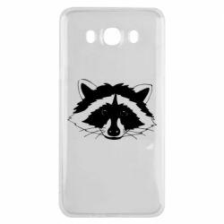 Чохол для Samsung J7 2016 Cute raccoon face