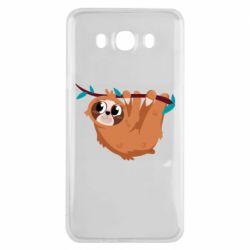 Чохол для Samsung J7 2016 Cute sloth