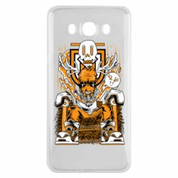 Чехол для Samsung J7 2016 Deer On The Throne