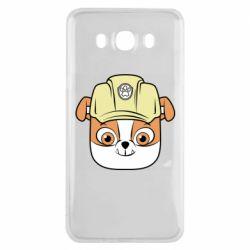 Чохол для Samsung J7 2016 Dog in helmet