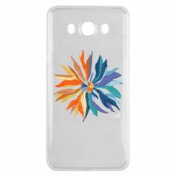 Чохол для Samsung J7 2016 Flower coat of arms of Ukraine