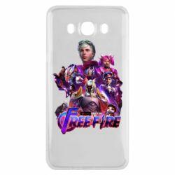 Чехол для Samsung J7 2016 Garena free avengers
