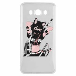 Чехол для Samsung J7 2016 Girl with katanas