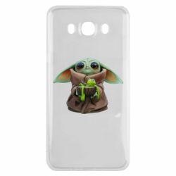 Чохол для Samsung J7 2016 Grogu and Kermit