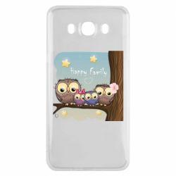 Чохол для Samsung J7 2016 Happy family