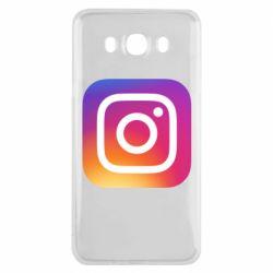Чохол для Samsung J7 2016 Instagram Logo Gradient