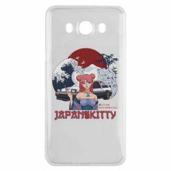 Чохол для Samsung J7 2016 Japan Kitty