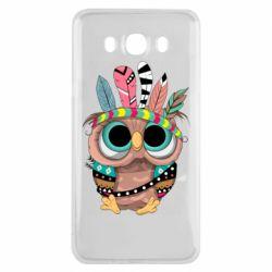 Чохол для Samsung J7 2016 Little owl with feathers