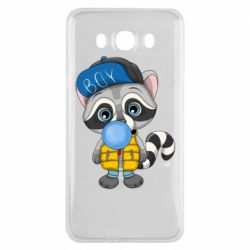 Чехол для Samsung J7 2016 Little raccoon