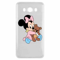 Чохол для Samsung J7 2016 Minnie And Bear
