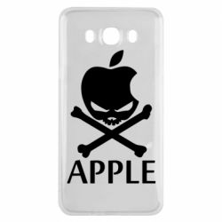Чехол для Samsung J7 2016 Pirate Apple