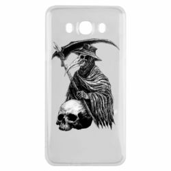 Чехол для Samsung J7 2016 Plague Doctor graphic arts