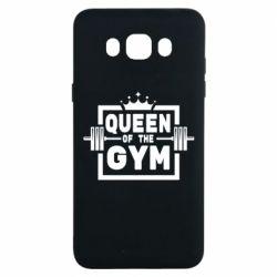 Чохол для Samsung J7 2016 Queen Of The Gym