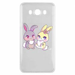 Чохол для Samsung J7 2016 Rabbits In Love