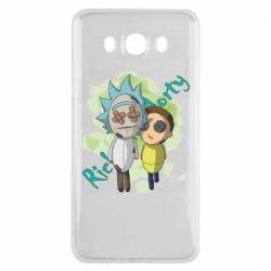 Чохол для Samsung J7 2016 Rick and Morty voodoo doll