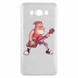 Чохол для Samsung J7 2016 Rock'n'roll Santa