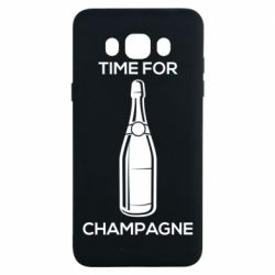 Чохол для Samsung J7 2016 Time for champagne