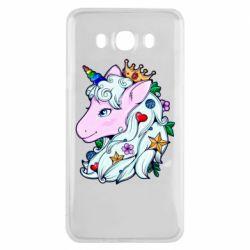 Чохол для Samsung J7 2016 Unicorn Princess