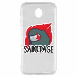 Чохол для Samsung J7 2017 Among Us Sabotage