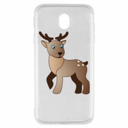 Чехол для Samsung J7 2017 Cartoon deer