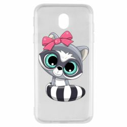 Чехол для Samsung J7 2017 Cute raccoon