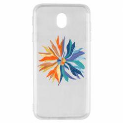 Чохол для Samsung J7 2017 Flower coat of arms of Ukraine