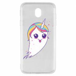 Чохол для Samsung J7 2017 Ghost Unicorn